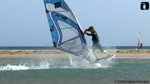Adam Sims with a Spock in Fuerteventura