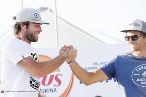 Two Italians on the podium