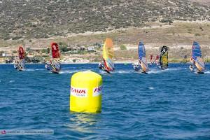 Full power Slalom action