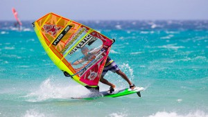 Taty Frans is currently ranked 6th in the Freestyle world ranking (Pic: Carter/PWA)
