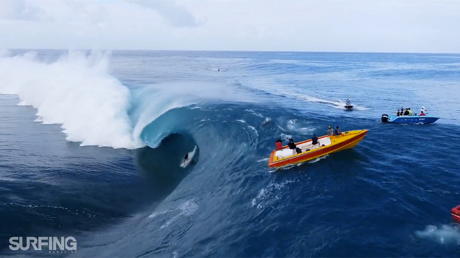Teahupoo by Surfing Magazine
