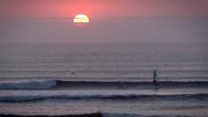 Sunset ride at Pacasmayo 2015