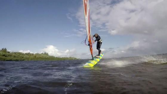 Meldorf Windsurf Session