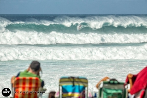 Great conditions during the Aloha Classic