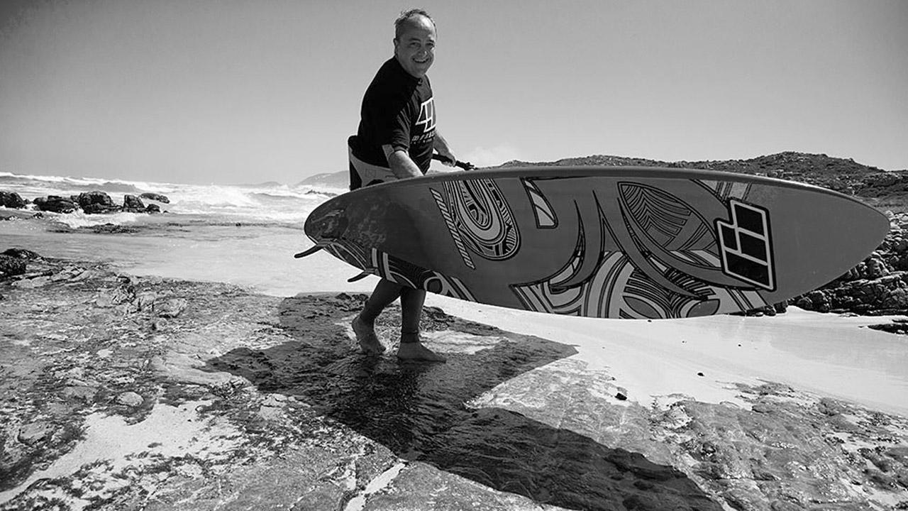 Cesare Cantagalli, a windsurfer and business man (Pic: 99NoveNove)