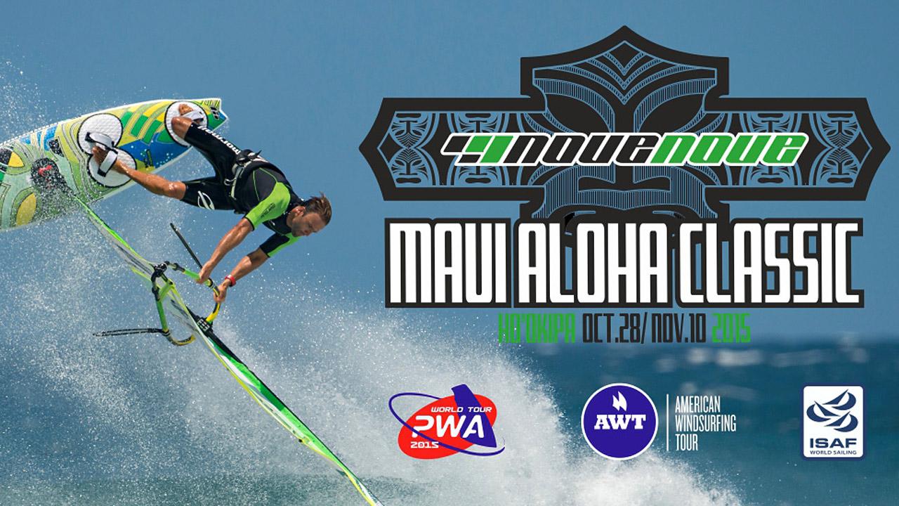 The Italian brand NoveNove  sponsors the 2015 Aloha Classic