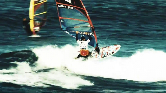 Ross Williams won the 2015 Tiree Wave Classic