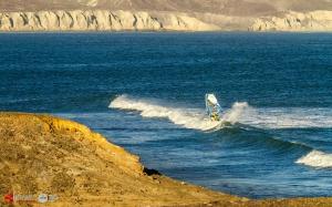 Jake at Punta San Carlos, Baja (Pic: Lucky beanz)