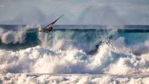Huge air in a critical section by Bernd Roediger (Pic: Carter/PWA)