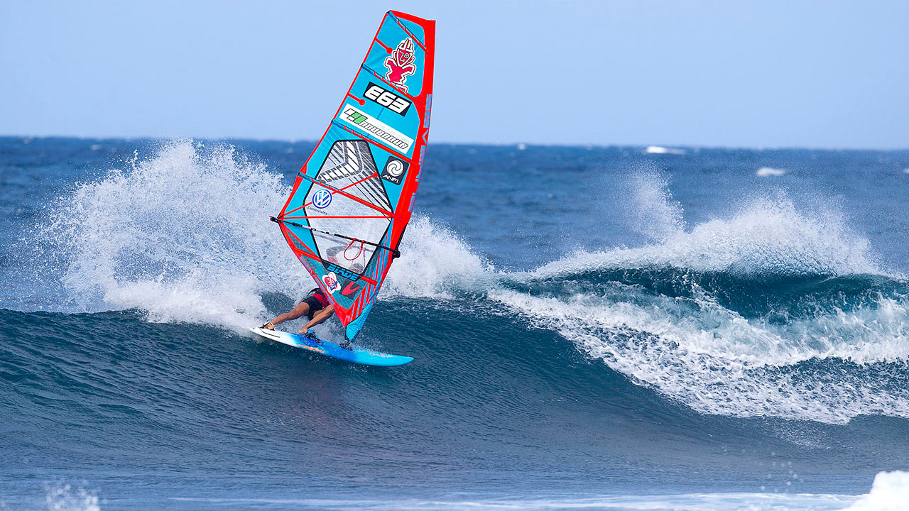 Iballa Ruano Moreno got the best waves (Pic: Carter/PWA)