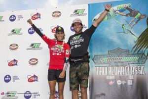 Iballa Moreno & Philip Köster - PWA Wave World Champs 2015