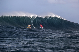 Rudy Castorina at Jaws (Pic: Pierre Bouras)