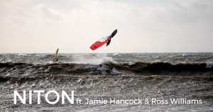 Ross Williams and Jamie Hancock at Niton