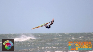 Davy Scheffers, the winner at Maceio (Pic: Luiz Octavio S Lopez/KiteZen)