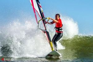 Sam Bittner at Punta San Carlos during summer