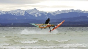 Andreas Lachauer Winter Windsurf