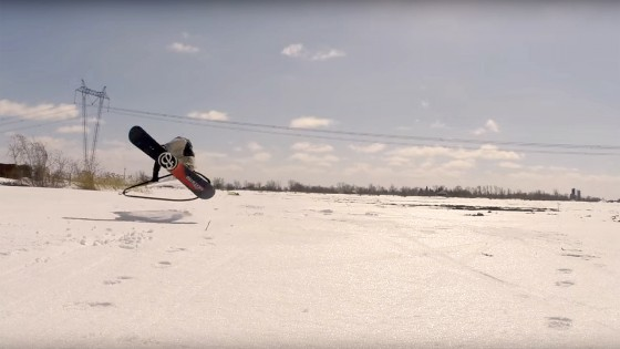 Build your on ski windskater or snowboard windskater