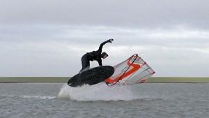 Quirin Krause on the North Sea