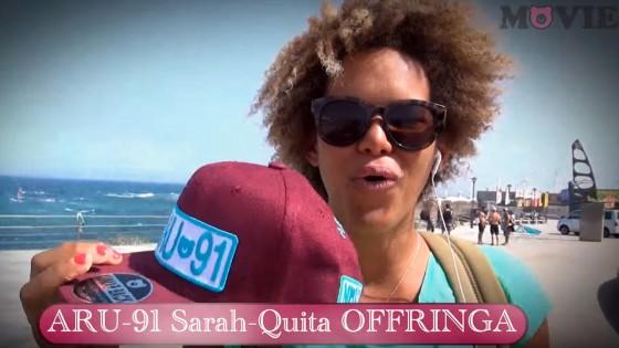 Sarah-Quita Offringa with freestyle action at Pozo Izquierdo