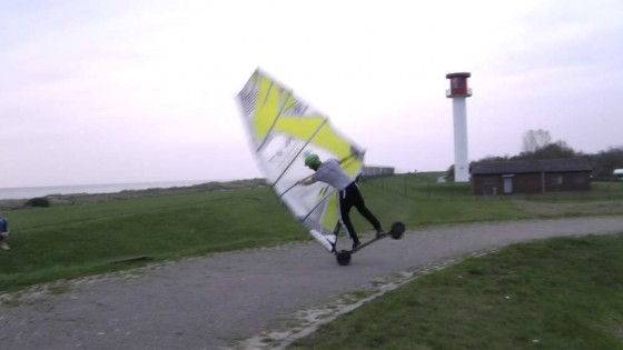 Windskate Air Funnell into Air Funnell