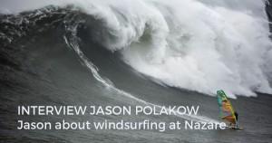 Jason Polakow at Nazare