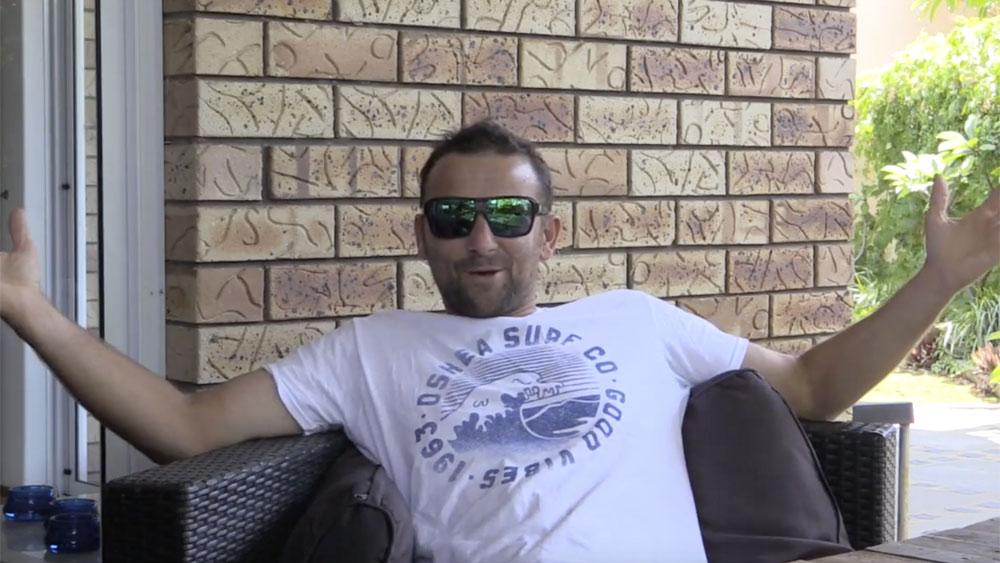 Ben Proffitt in Australia