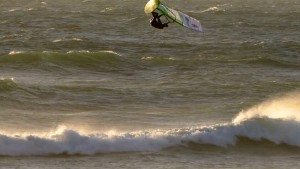 Adrien Bosson with a Back Loop at Cape Town