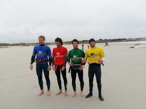 The top 4 riders at Le Dossen