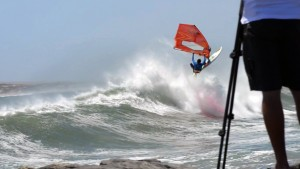 Andrea Franchini with an Aerial at South Africa