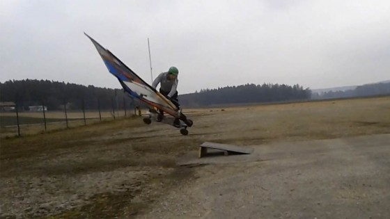 Windskate Air Funnell by Anton Munz