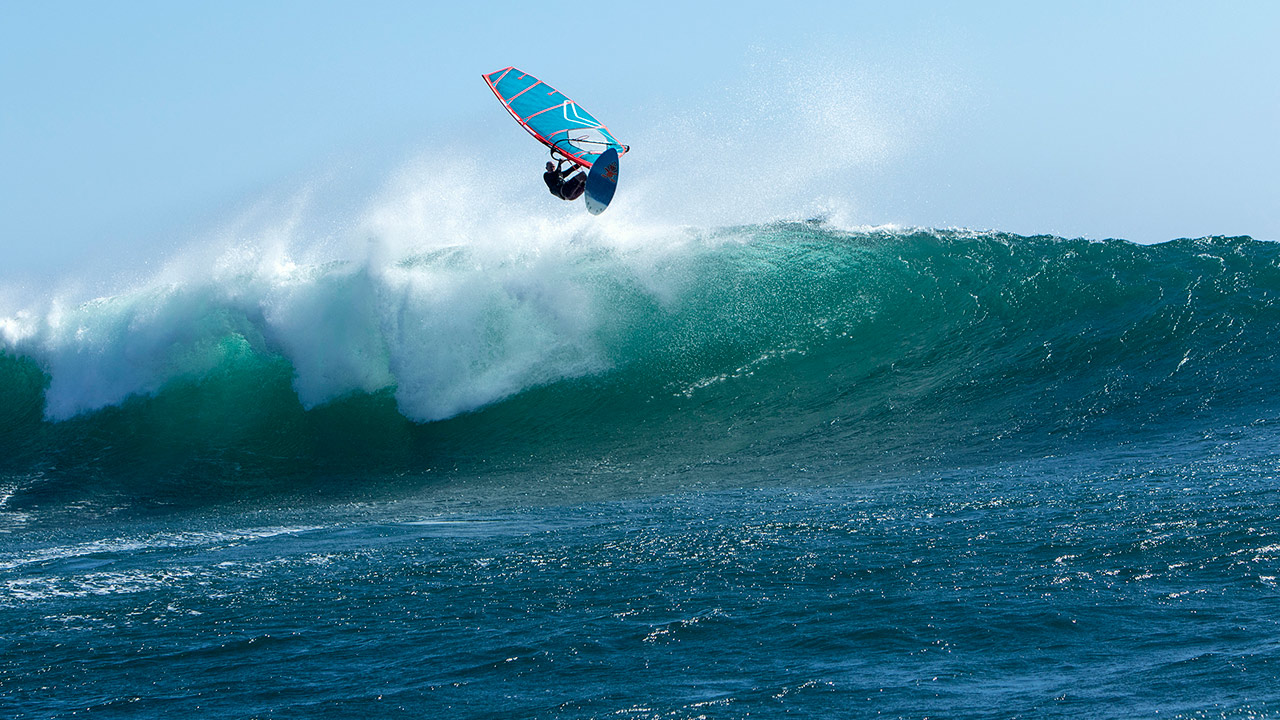 Scott McKercher in one of his favourite waves (Pic: Starboard)