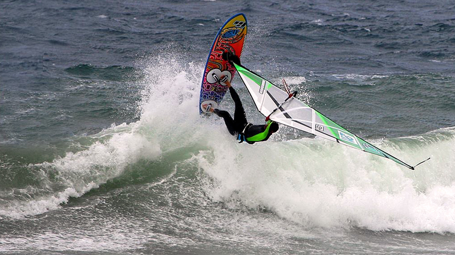 Dario with a wave360 (Pic: Jose Pina)