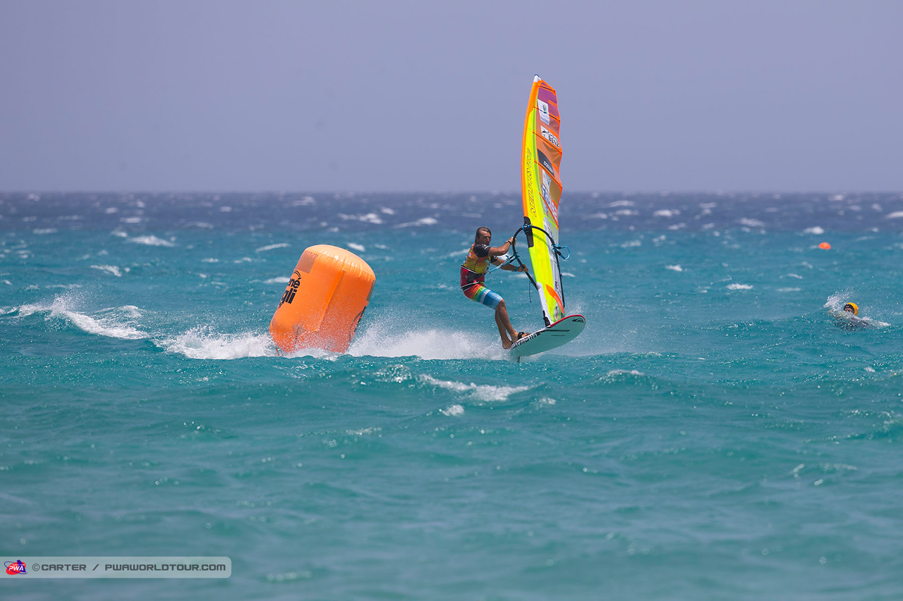 Antoine claims victory at Sotavento (Pic: PWA/Carter)