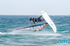 Jacopo Testa on form in Lanzarote (Pic: EFPT)