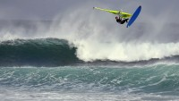 Jack Hunt with a huge Aerial o0ff the lip in Scotland