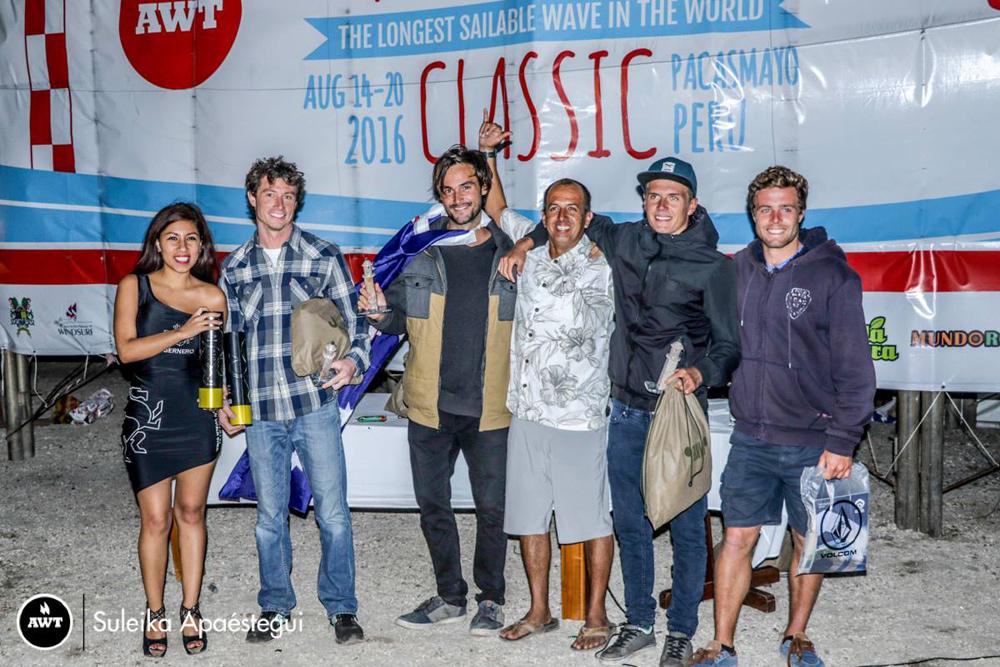 The men pro winners at the AWT Pacasmayo Classic