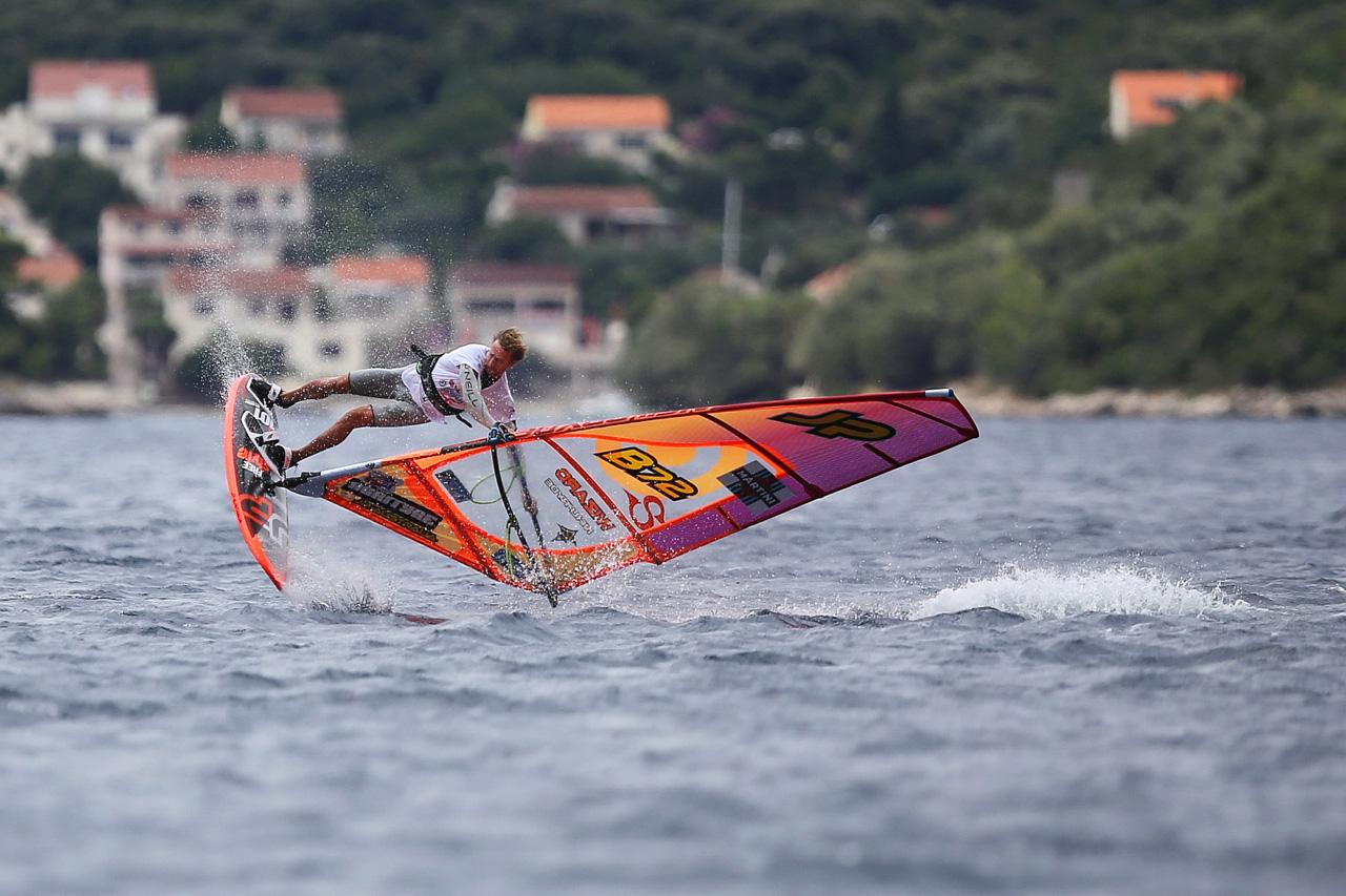 Steven van Broeckhoven on form in Peljesac, Croatia