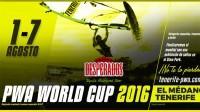 PWA World Cup Tenerife 2016 - Live Stream