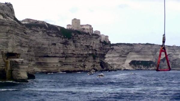 Xavier Frelin in Corsica
