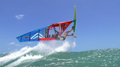 Go windsurfing trailer with Oda Johanne trailer