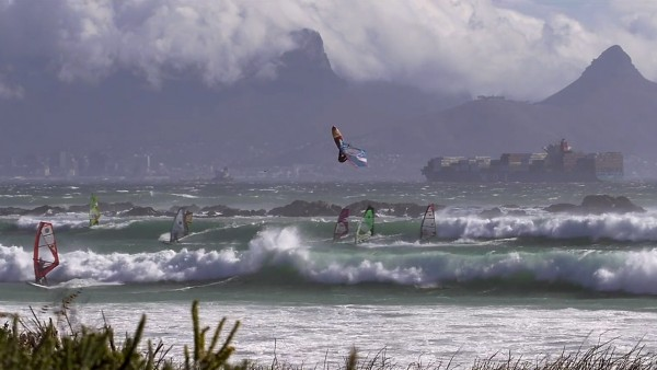 Cape Town windsurfing