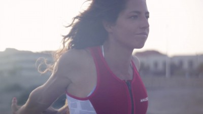 Caterina Stenta in El Medano in 2016