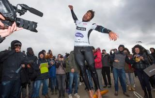 Gollito celebrates in Sylt 2016 (Pic: Carter/PWA)