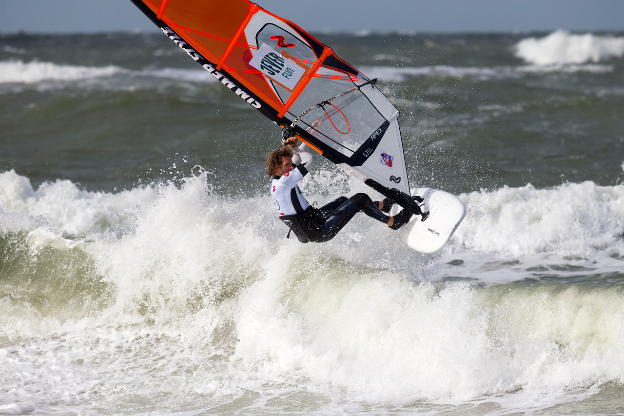 Martin Ten Hoeve made it through the trials in Sylt 2016 (Pic: Carter/PWA)