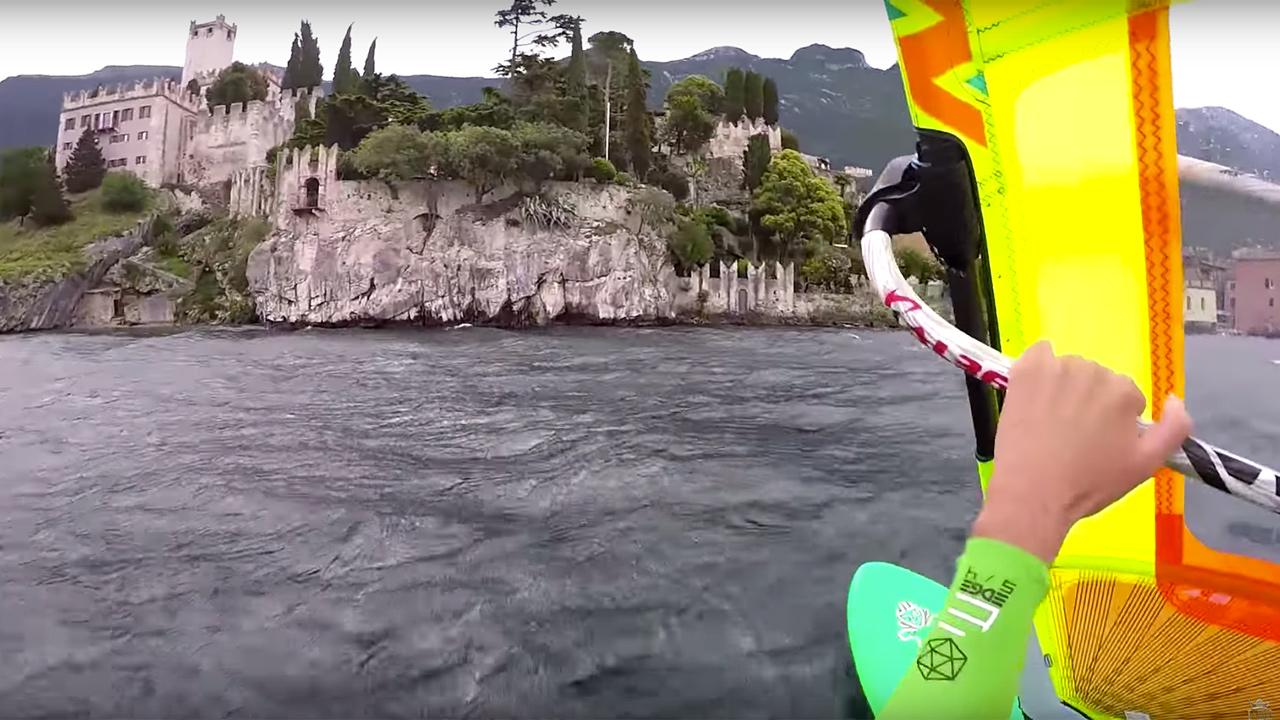 Mattia Pedrani's Dawn Patrol at Lake Garda