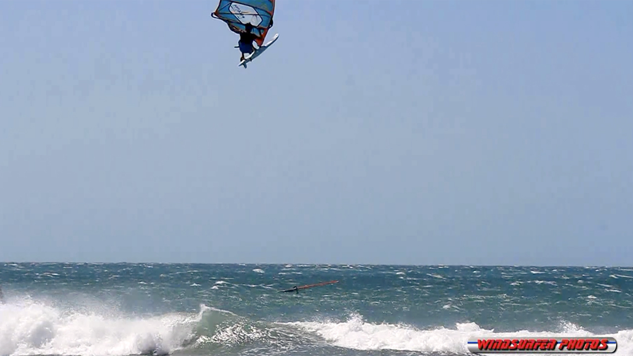 Jericoacoara freestyle windsurfing action in autumn 2016