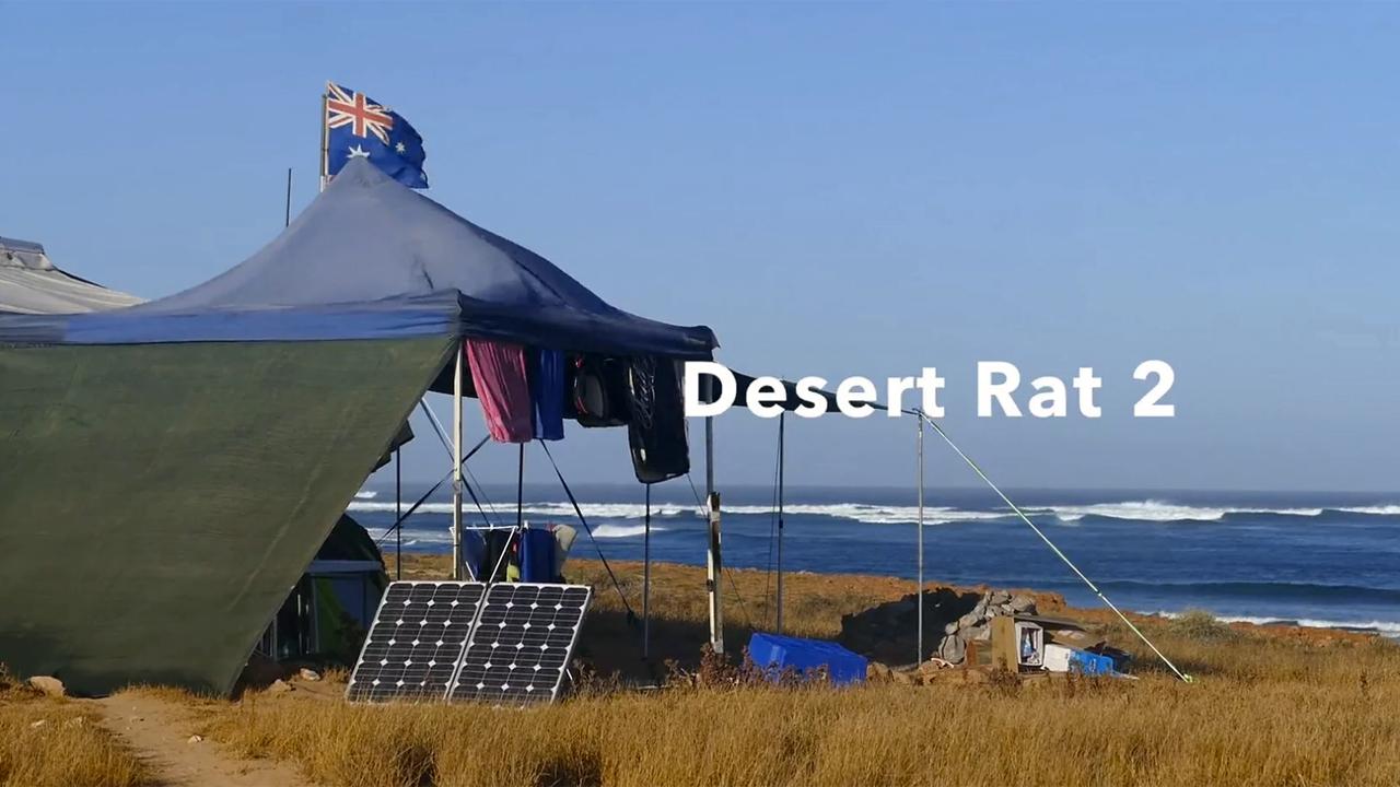 Timo Mullen the Desert Rat in Western Australia