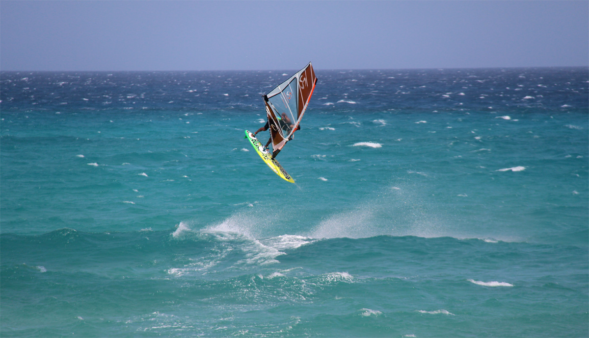 Deivis Paternina on Loftsails in action