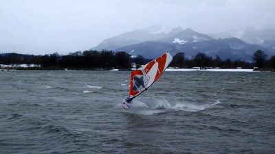 Woife Strasser at Lake Chiemsee in 2017