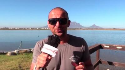 Ben Proffitt in Cape Town